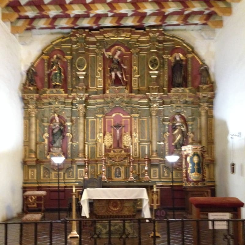 CHL #327 - Mission San Francisco de Asís (Mission Dolores)- Church Altar