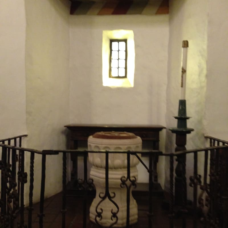 CHL #327 - Mission San Francisco de Asís (Mission Dolores) - Baptismal Font