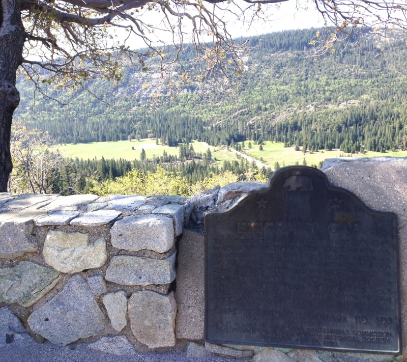 CHL #403  Emigrant Gap Plaque