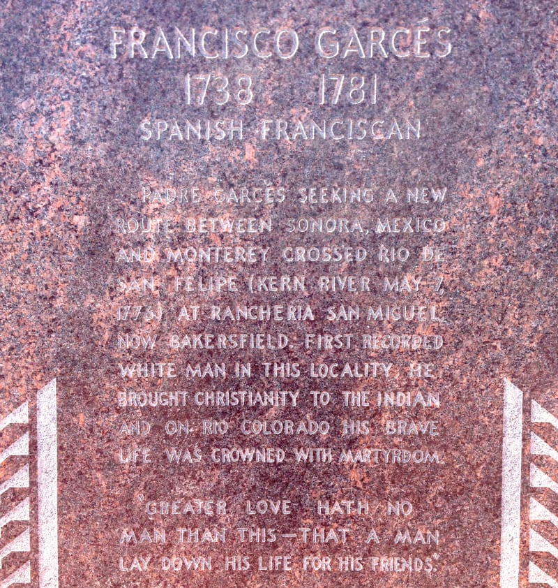 CHL #277 - Garcés Circle Additional Plaque