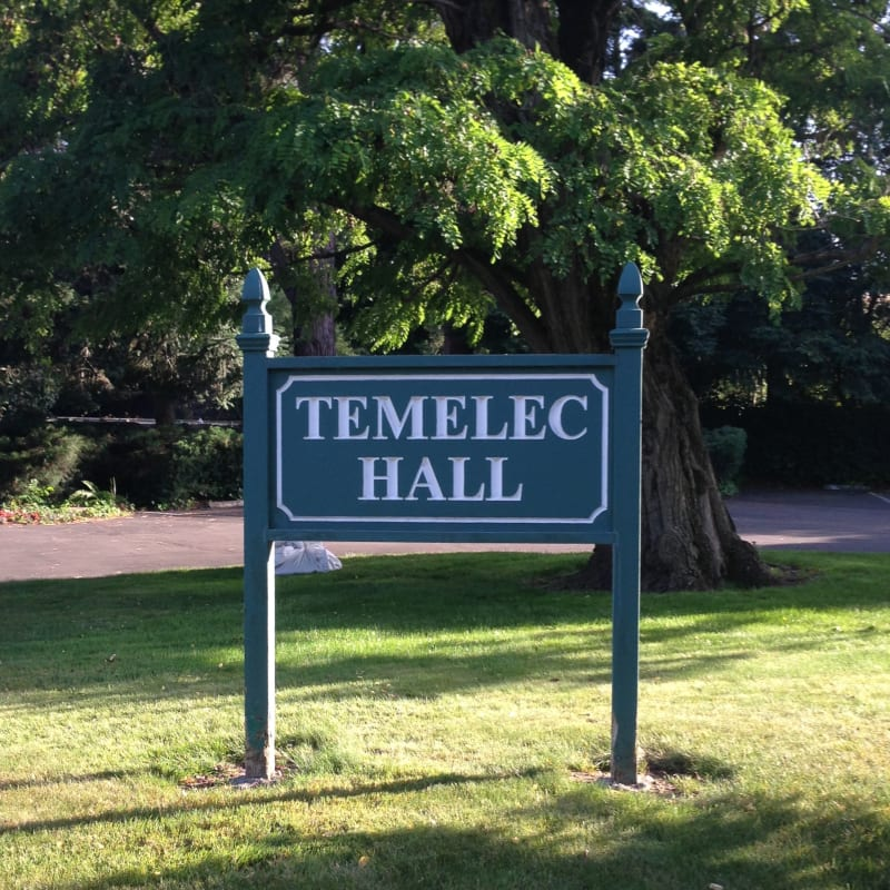 CHL #237 - Temelec Hall Street Sign