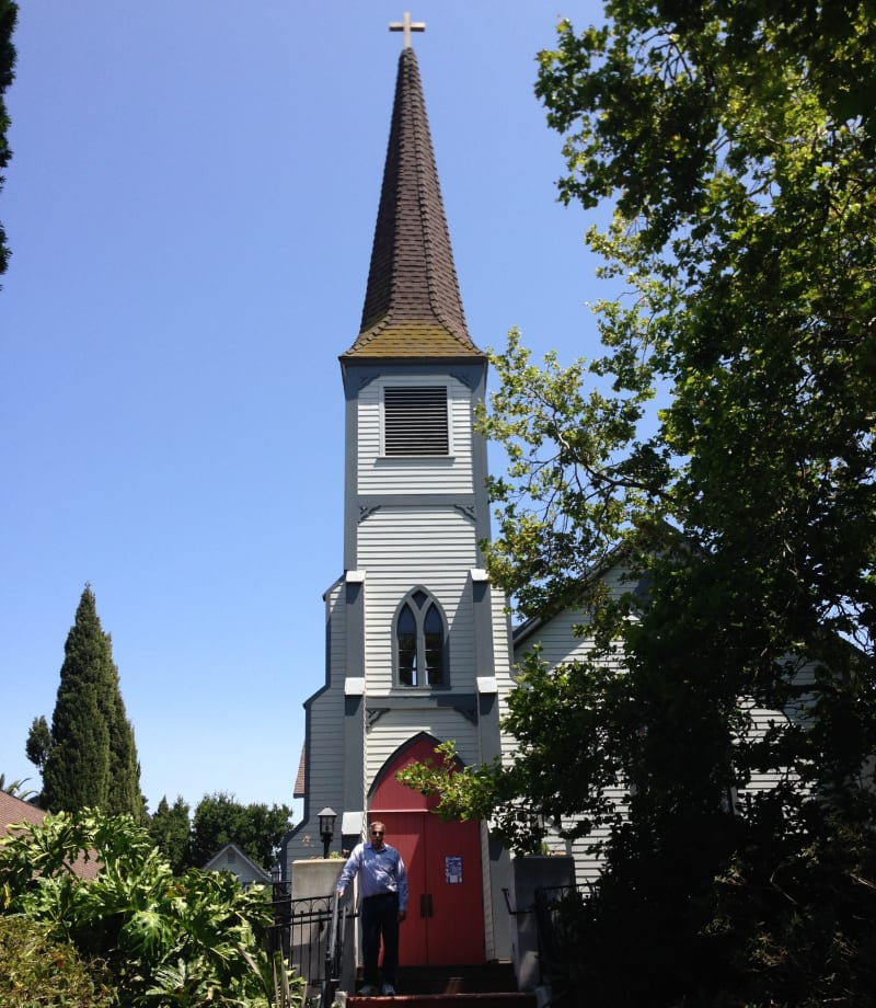 CHL #862 - St. Paul's Episcopal Church, Benecia