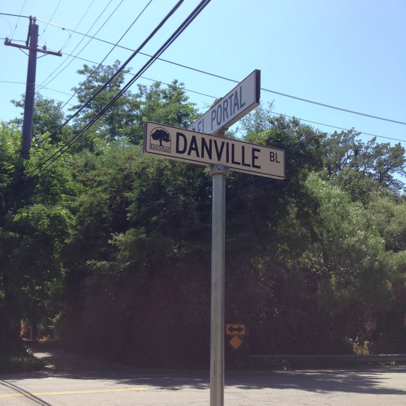 CHL #853 - Captain Pedro Fages Trail, 856 Danville Blvd at El Portal, Danville