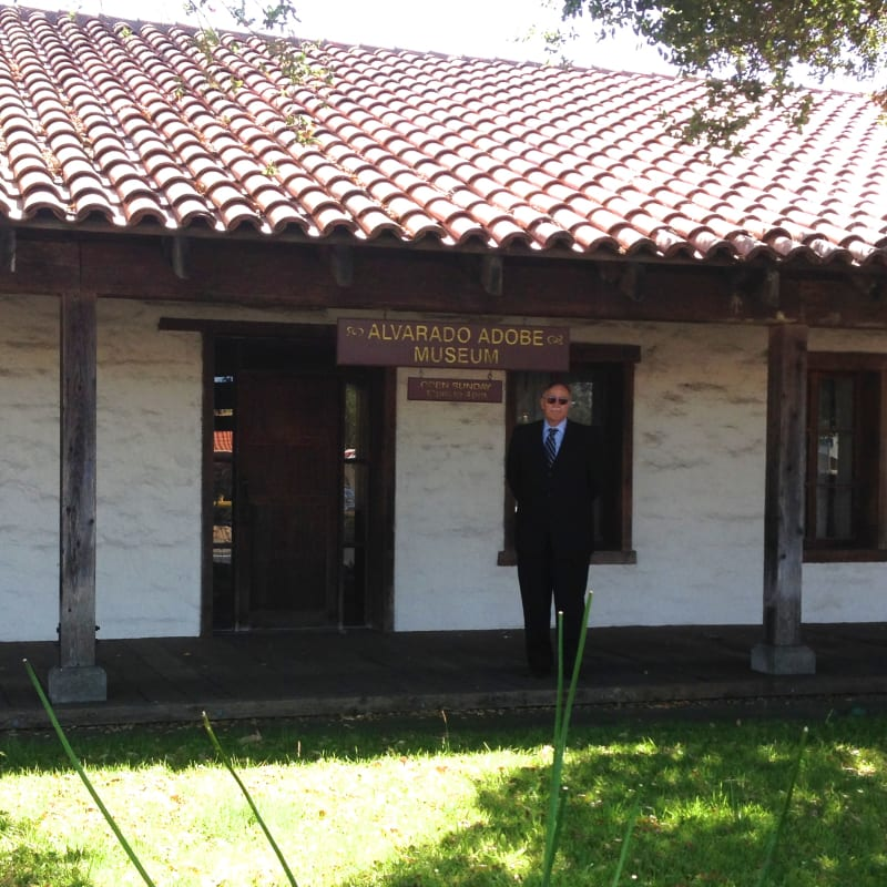 CHL #512 - Alvarado Adobe Museum