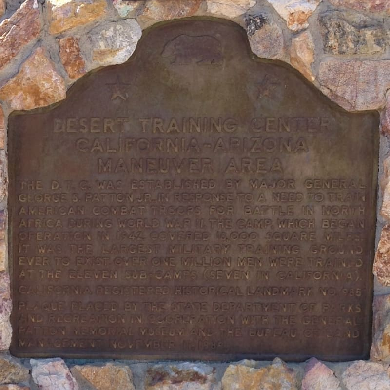 CHL #985.1 - Camp Young State Plaque