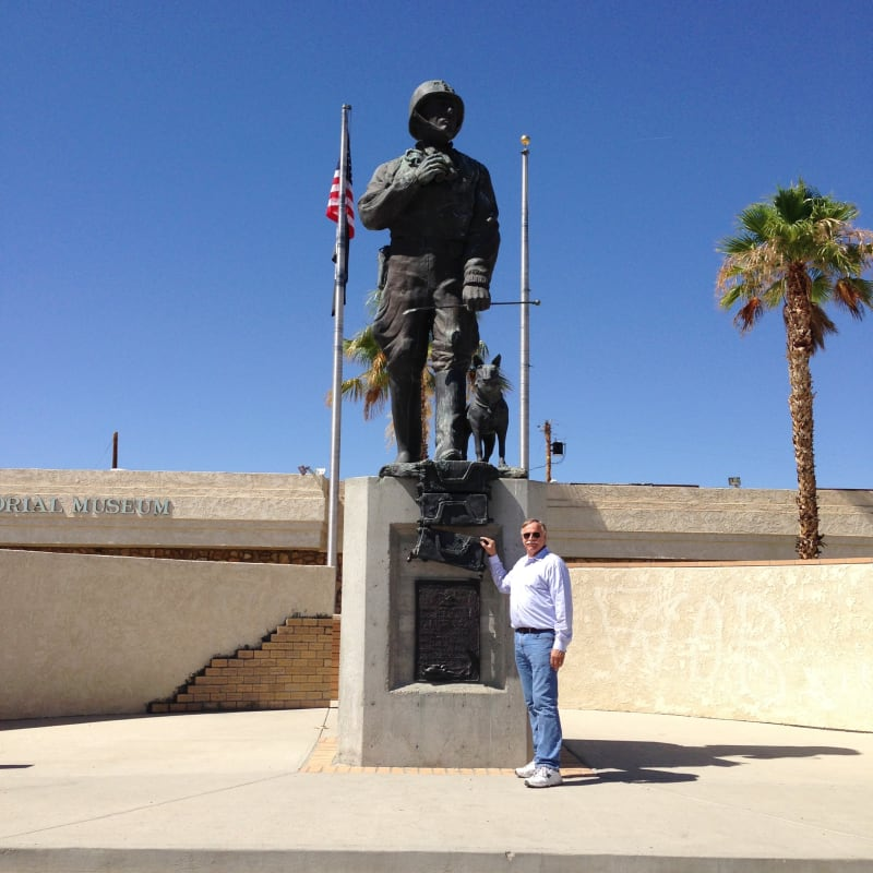 CHL #985.1 - Camp Young, George Patton Museum