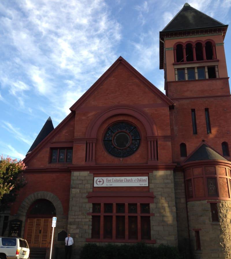 CHL #896  First Unitarian Church of Oakland