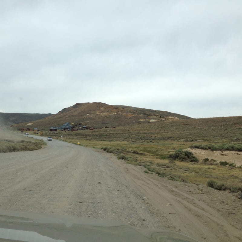 Approaching CHL #34 Bodie