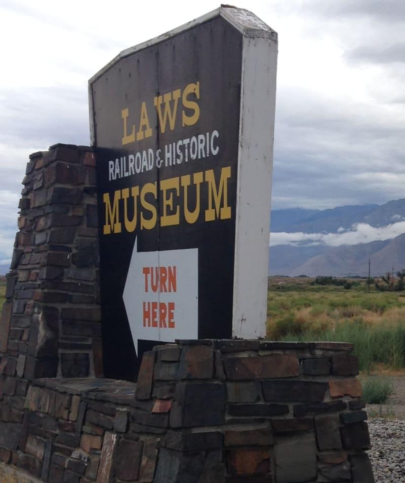 CHL #953 Laws Narrow Gauge Railroad Station