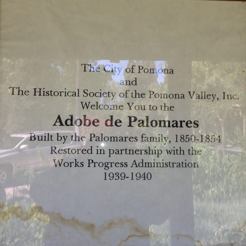 CHL #372  Adobe Palomares Hours
