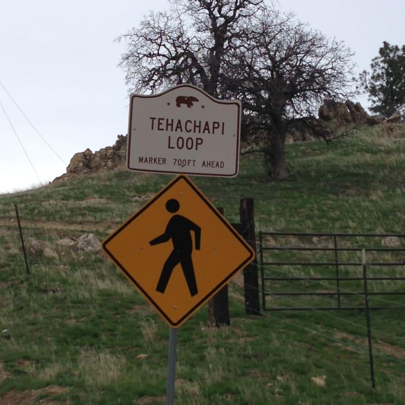 CHL #508 - Tehachapi Loop Street Sign