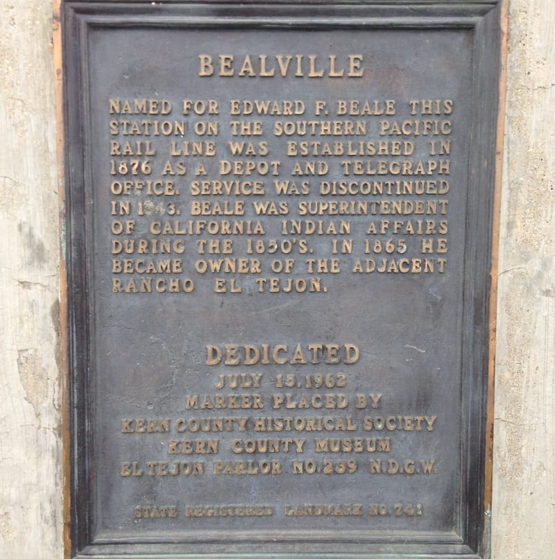 CHL #741 - Bealville Private Plaque