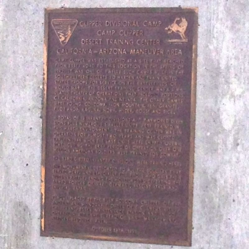 CHL #985.5  Camp Clipper Private Plaque