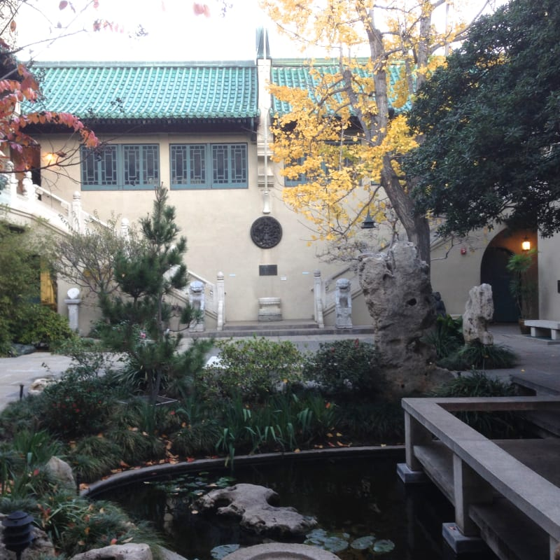 CHL #988 Pacific Asia Museum Courtyard