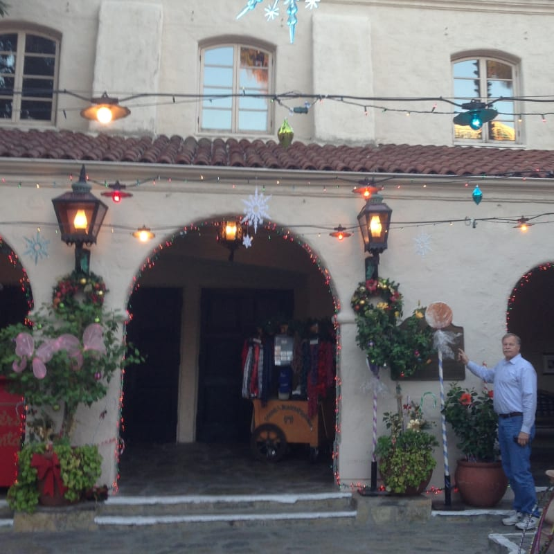 CHL #887 Pasadena Playhouse Courtyard