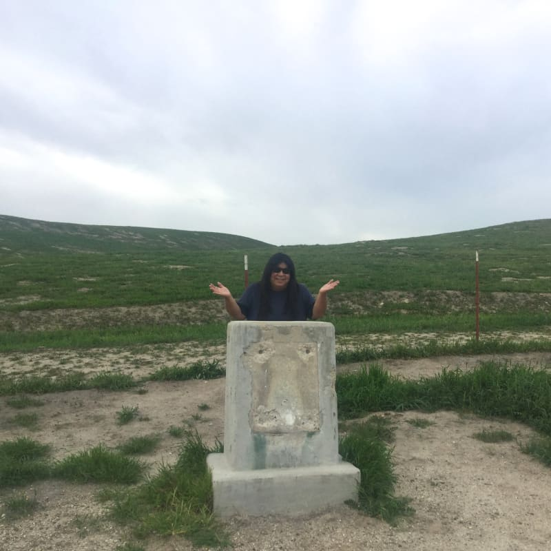 CHL #631 - Garcés Baptismal Site Marker