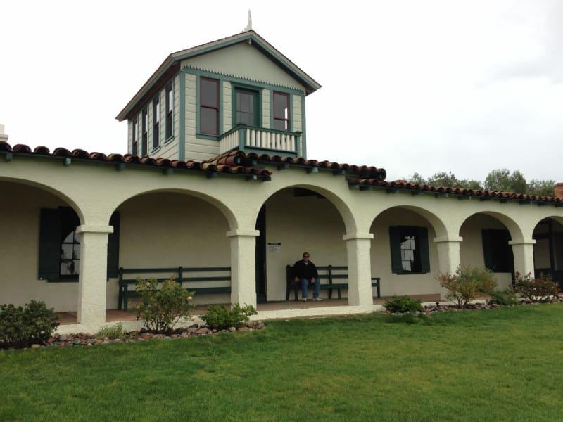 CHL 940 Rancho Guajome Front Arcade