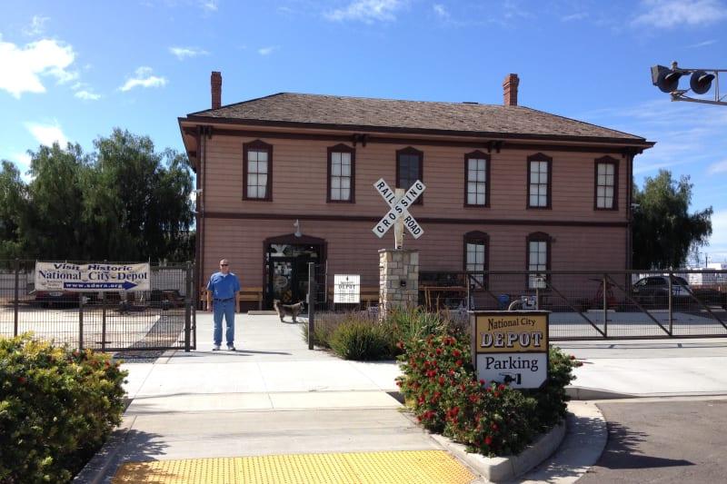 CHL #1023 - Transcontinental Railroad Depot