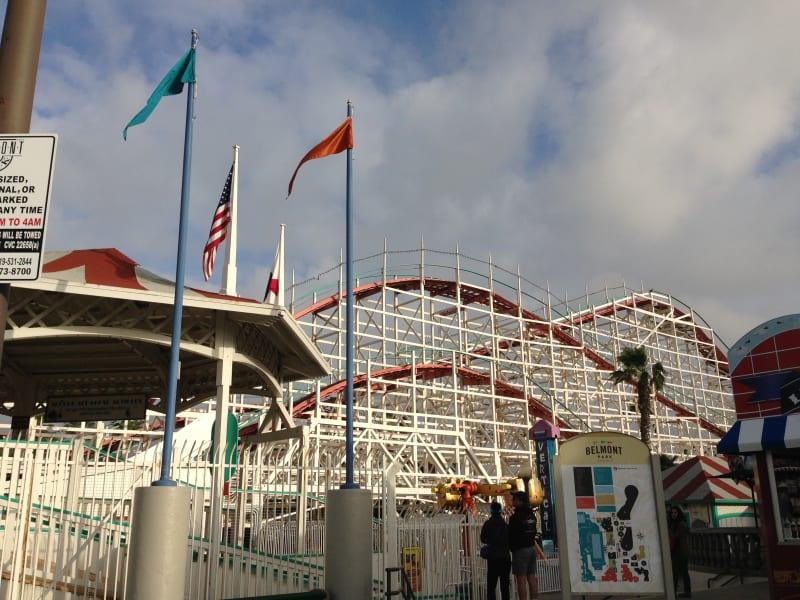 NO. 1044 Giant Dipper Roller Coaster -