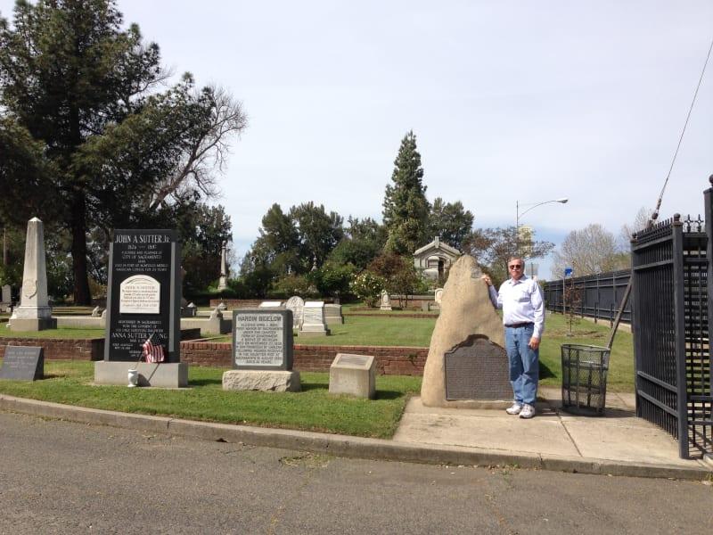 CHL No. 566  Sacramento City Cemetery Marker