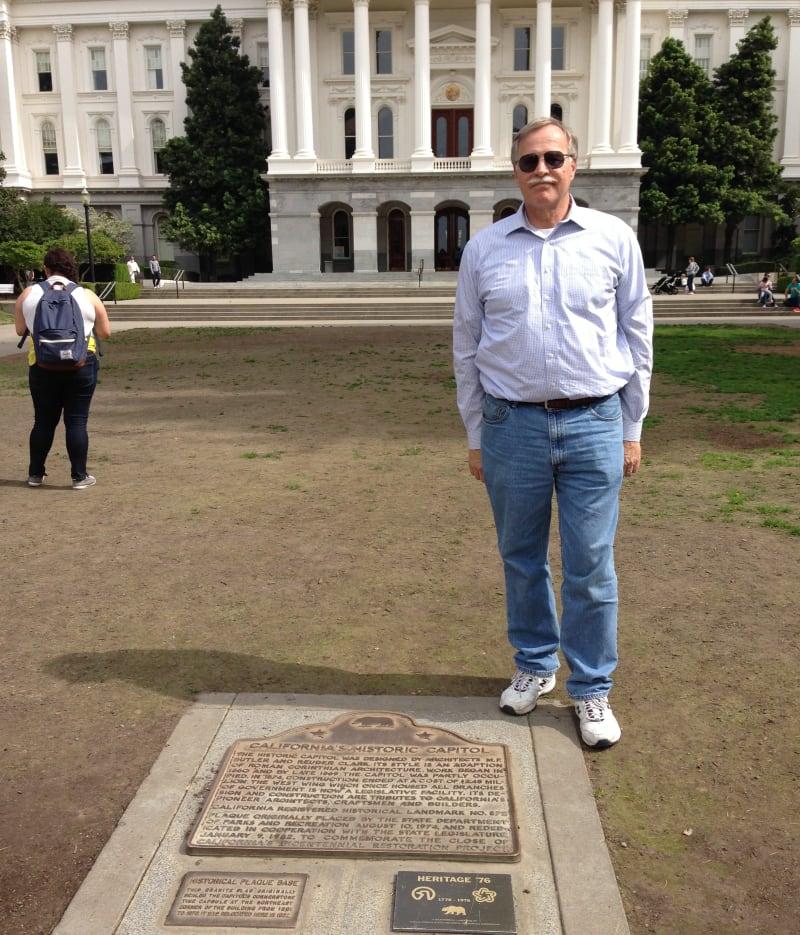 CHL No. 872 California's State Capitol Complex Marker