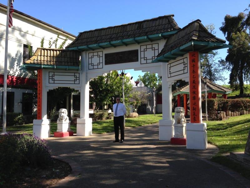 CHL No. 889 Bok Kai Temple Entrance to Grounds