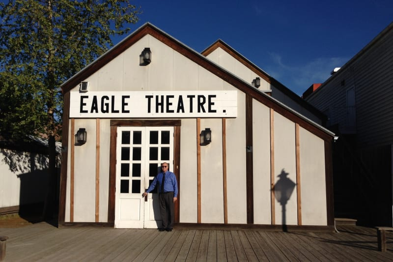CHL No. 595  Eagle Theater