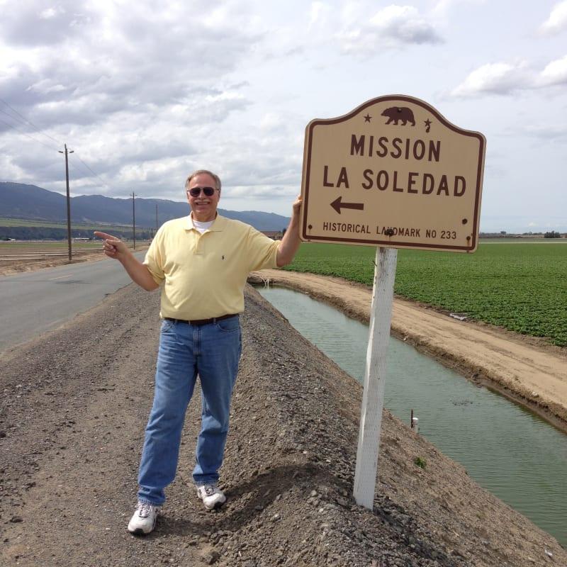 CHL No. 233  Mission Nuestra Señora de la Soledad State Street Sign