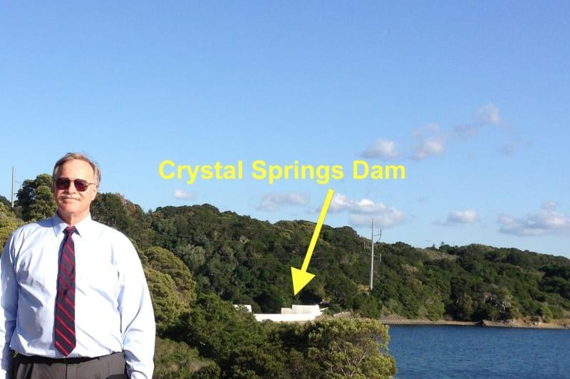 NO. 94 PORTOLÁ EXPEDITION CAMP -- Crystal Springs Dam