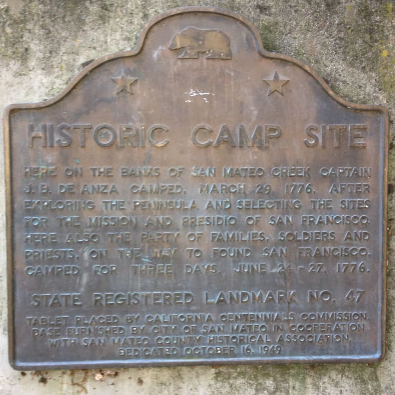 NO. 47 ANZA EXPEDITION CAMP State Plaque