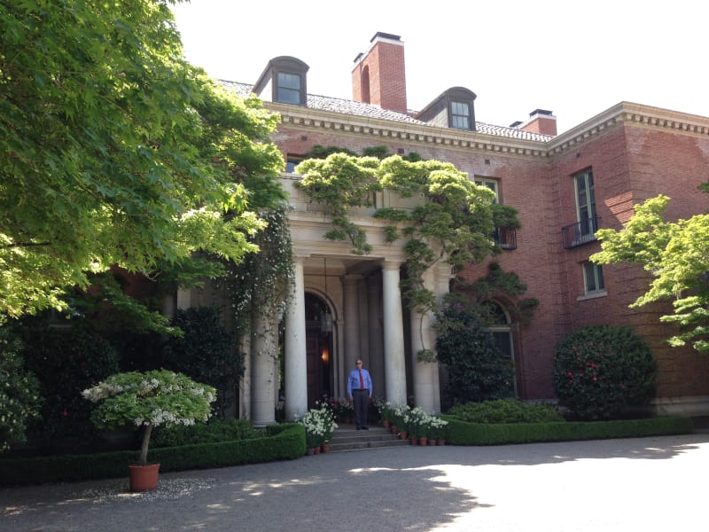 CHL No. 907  Filoli, Front Door