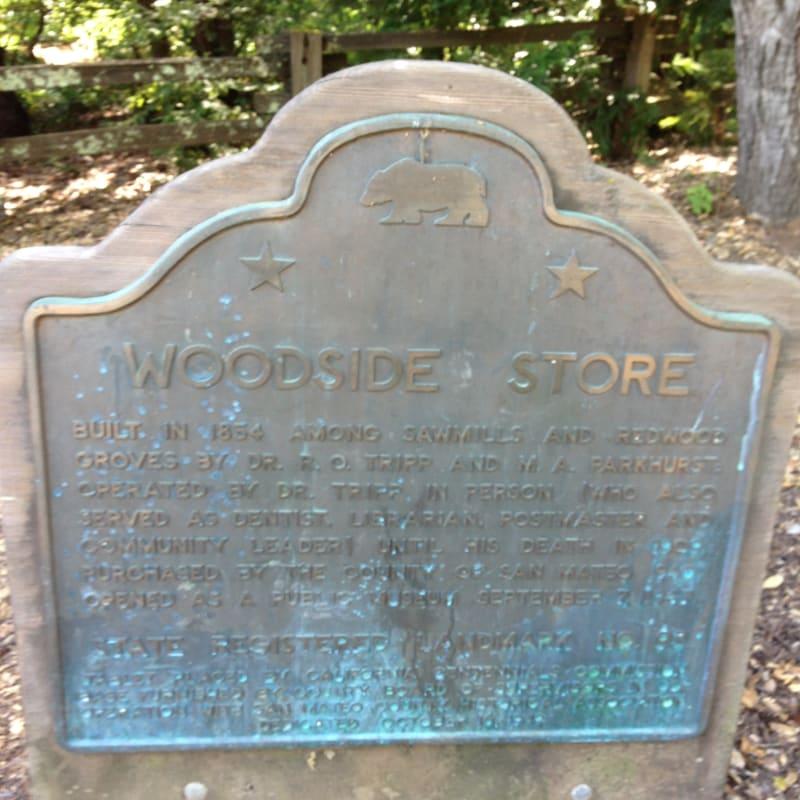 NO. 93 WOODSIDE STORE Marker
