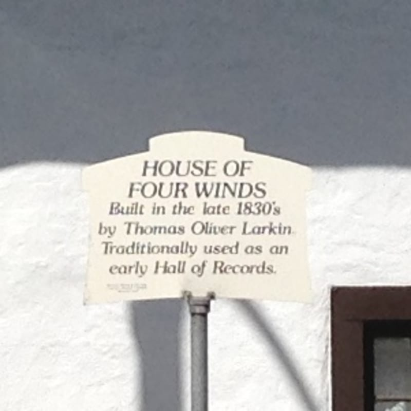 NO. 353 HOUSE OF FOUR WINDS, Private Sign