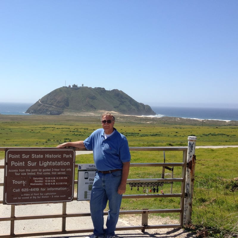 NO. 951 POINT SUR LIGHT STATION- Meeting place for tour