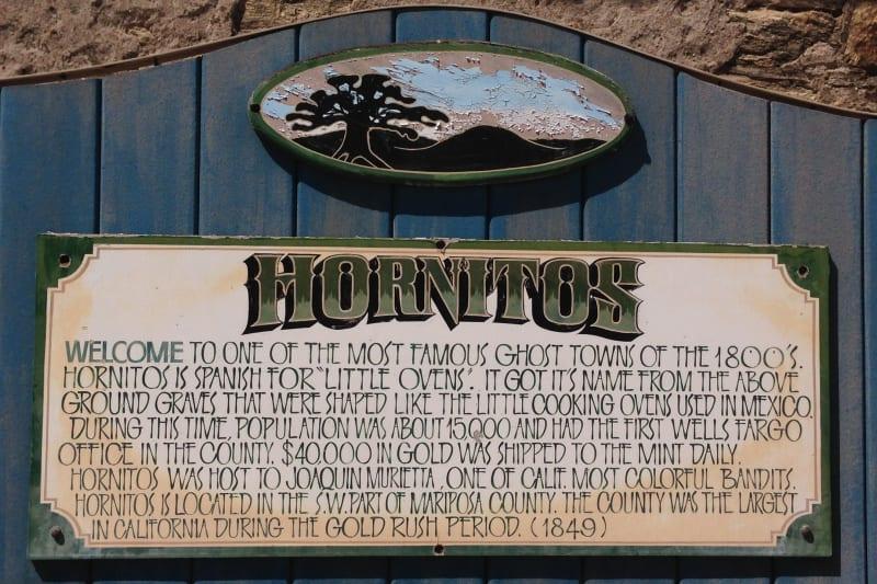 NO. 333 HORNITOS, Private Plaque
