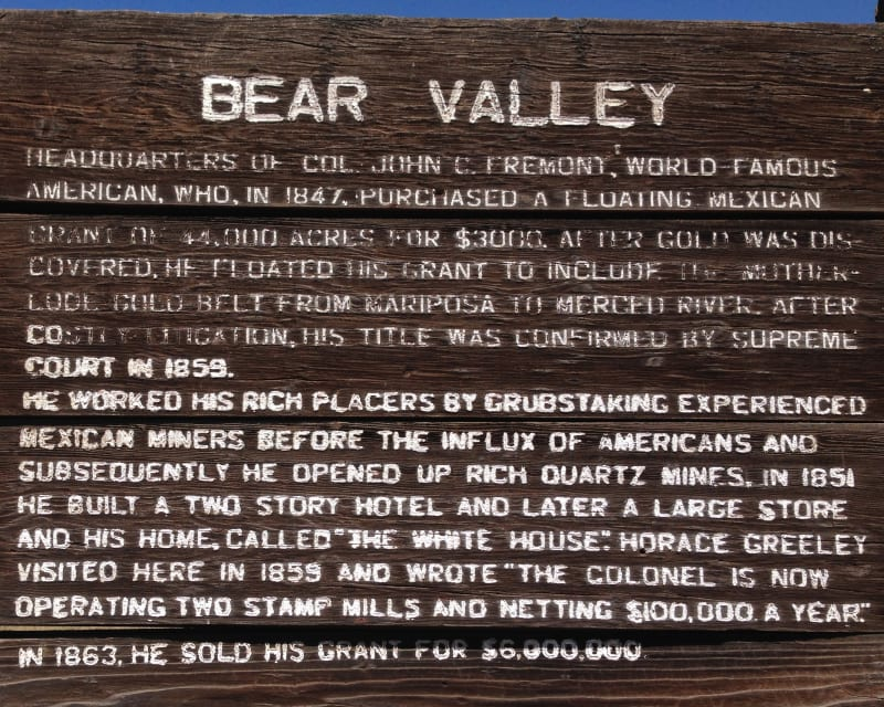 NO. 331 BEAR VALLEY, Private Marker