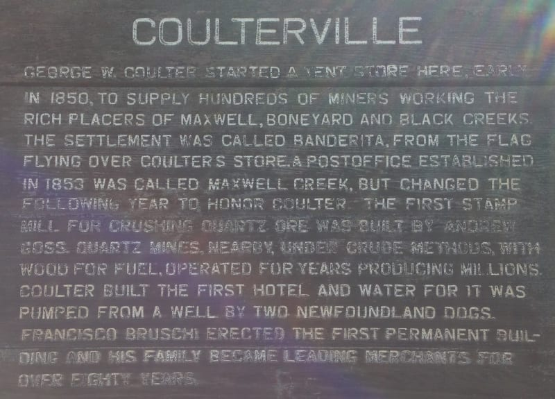 NO. 332 COULTERVILLE, City Sign