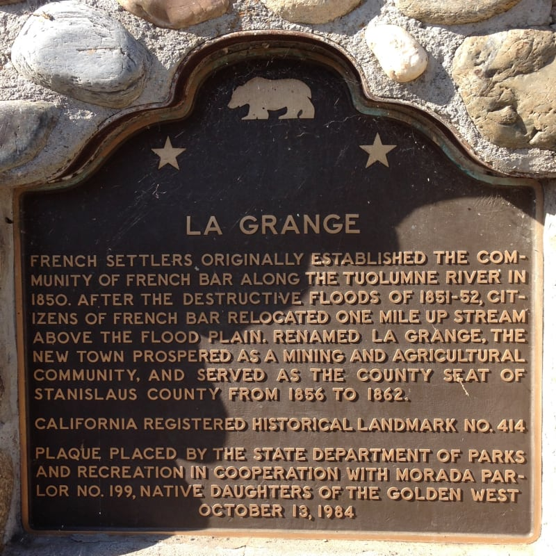 NO. 414 LA GRANGE, State Plaque