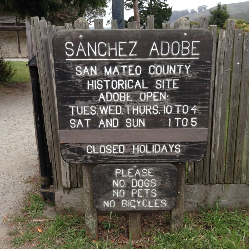 NO. 391 SANCHEZ ADOBE, Hours of Operation