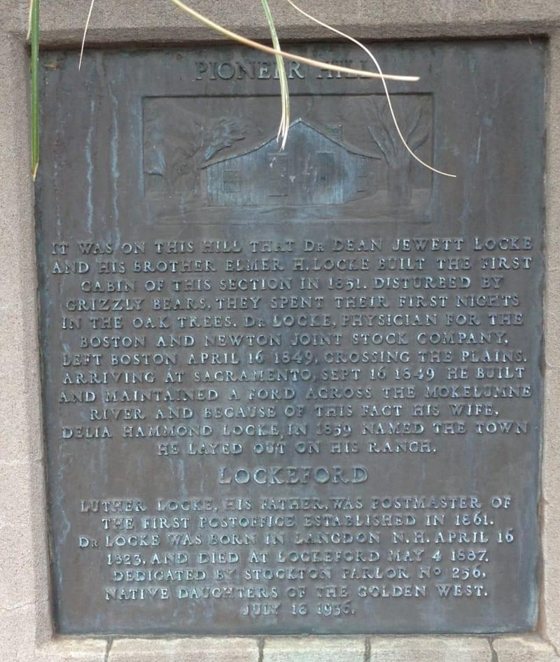 NO. 365 LOCKEFORD (LOCKE'S FORD) Private Plaque