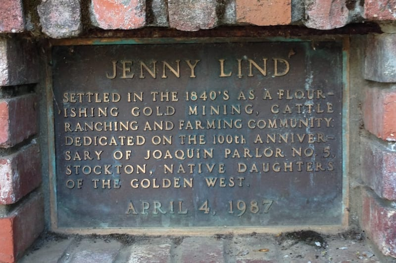 NO. 266 JENNY LIND - Private Plaque