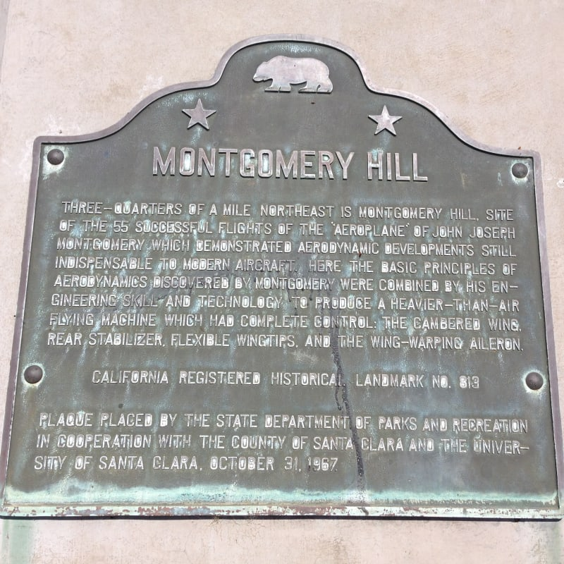 NO. 813 MONTGOMERY HILL - State Plaque