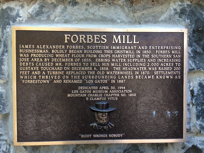 NO. 458 FORBES FLOUR MILL - Private Plaque