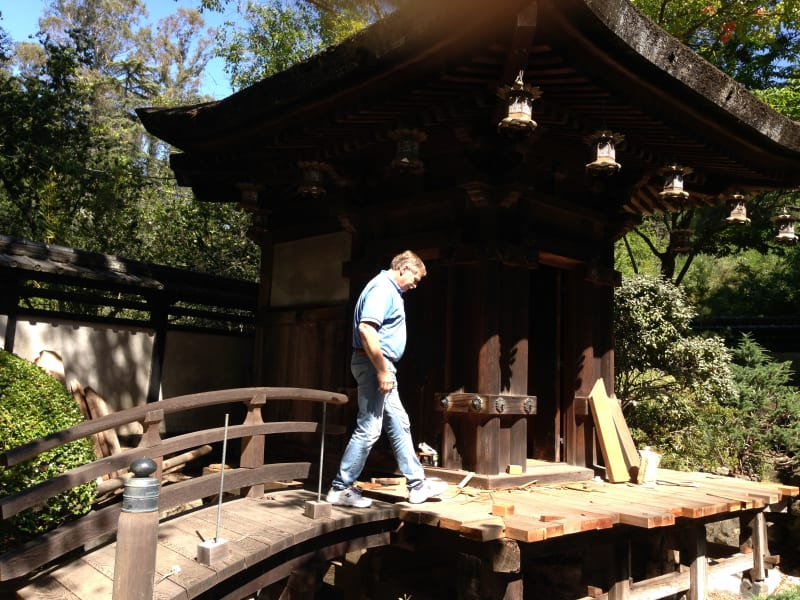 NO. 903 KOTANI-EN - Crossing the bridge to the temple