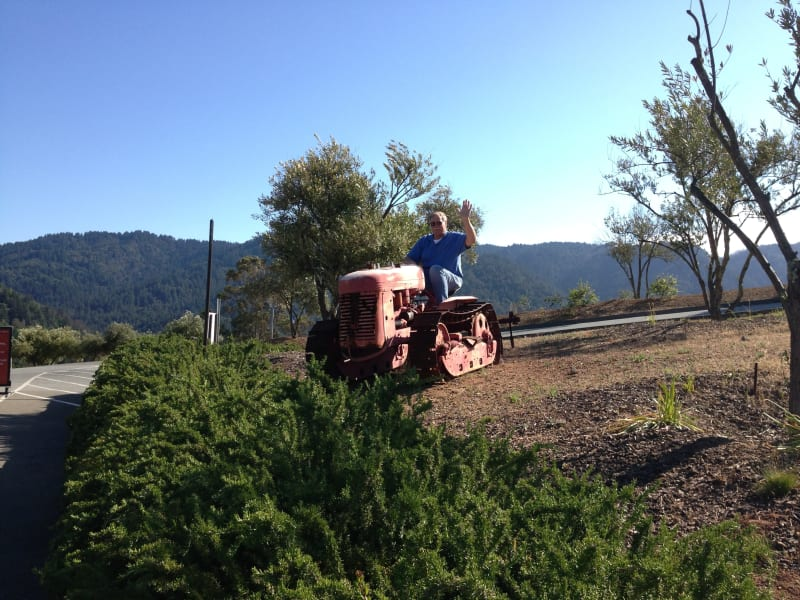NO. 733 PAUL MASSON MOUNTAIN WINERY - Working the land