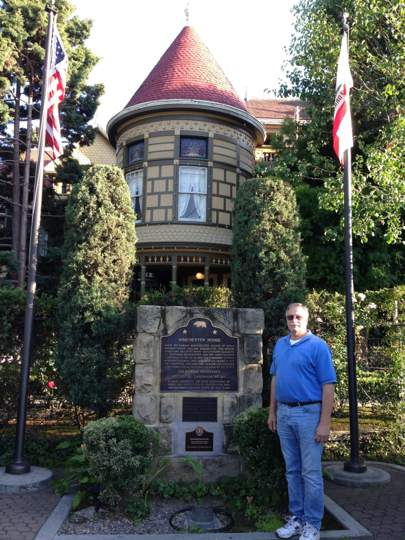 NO. 868 WINCHESTER HOUSE - Marker