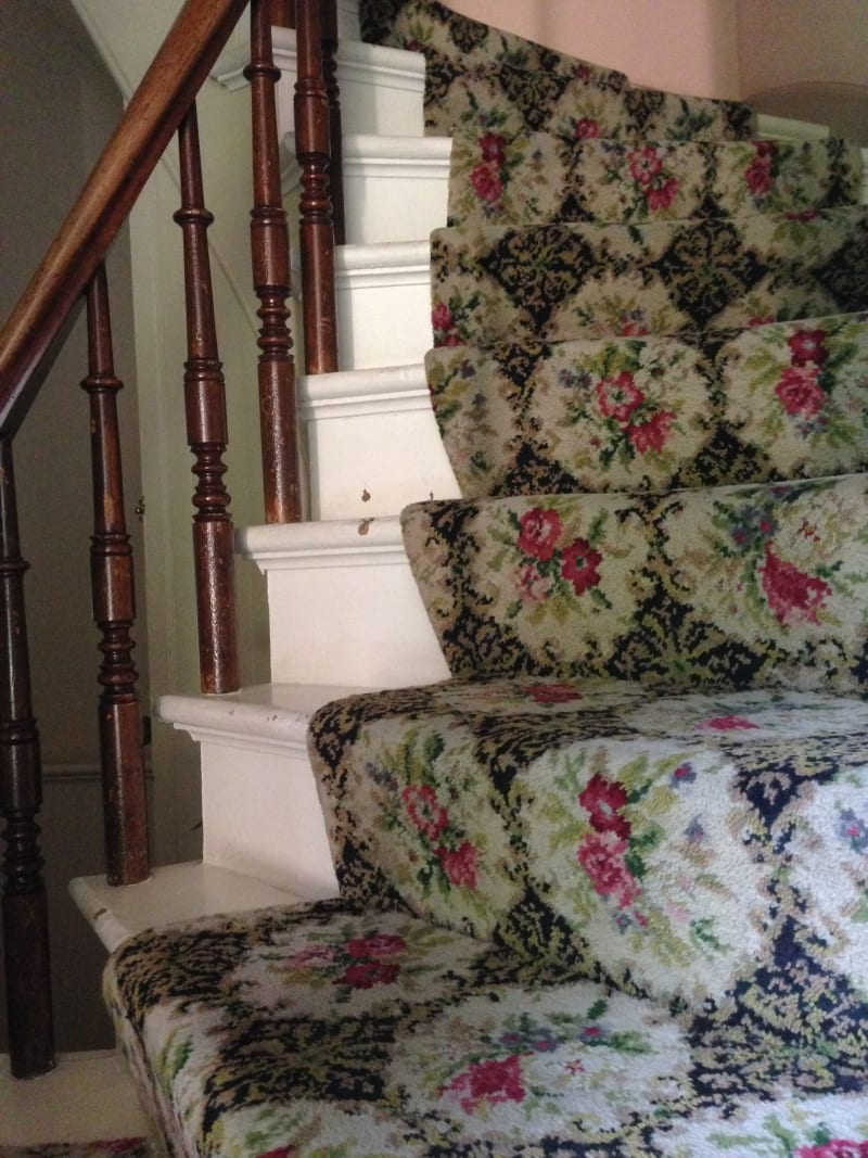 Bidwell Mansion Side Staircase