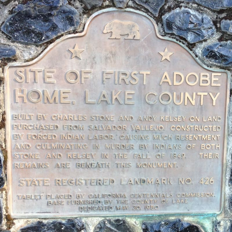 NO. 426 SITE OF STONE AND KELSEY HOME - State Plaque