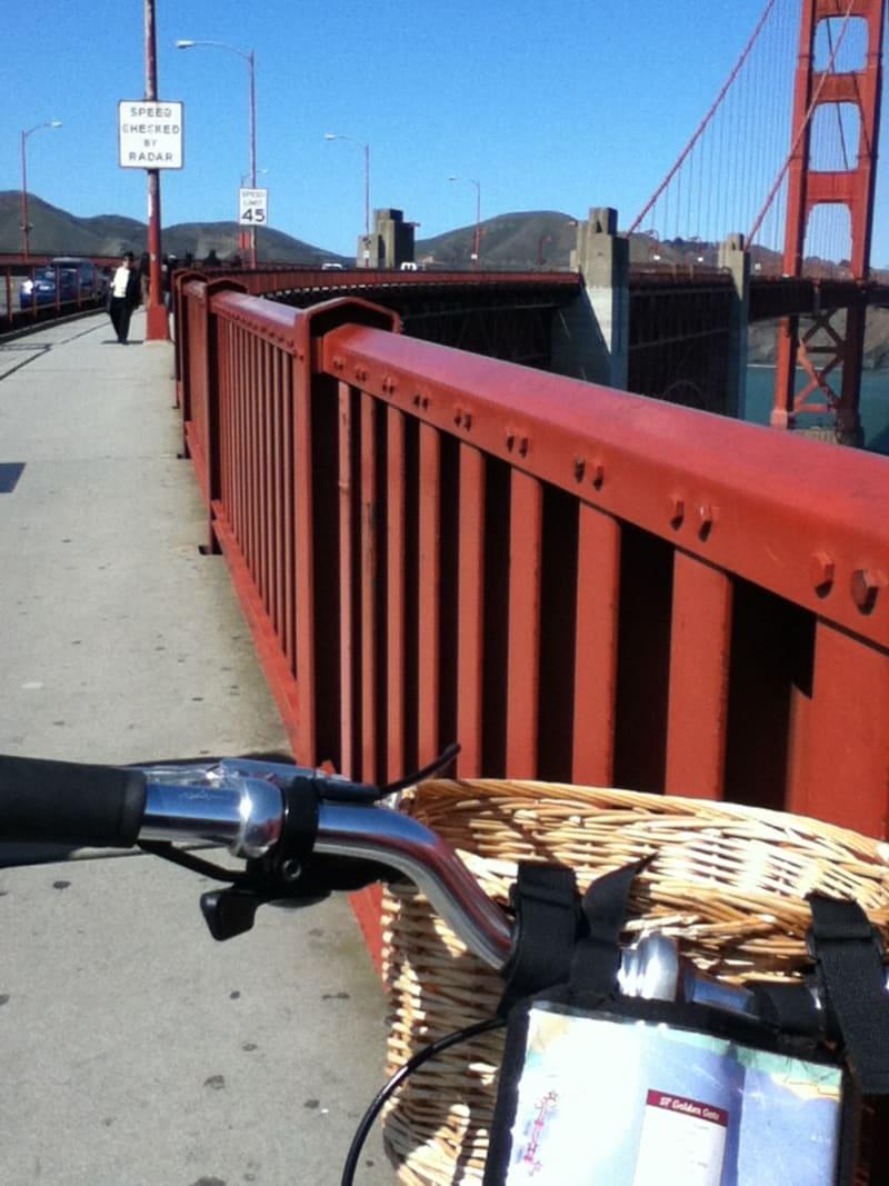 NO. 974 GOLDEN GATE BRIDGE - San Francisco Side