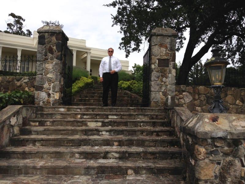 NO. 392-1 SITE OF HARASZTHY VILLA - Front steps